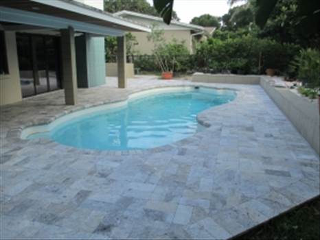 Travertine pavers are fabricated from natural travertine stone that doesn't get extremely hot in hot weather conditions as a result of its inherent cooling property. Stone-Mart offers these pavers to brighten your outside landscapes adding a magnificence