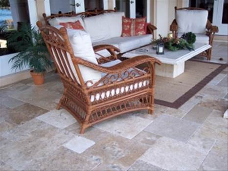 French pattern travertine pavers are fabricated from eco-friendly travertine stone that doesn't get extremely hot in weather condition as a result of its inherent cooling material. Stone-Mart provide pavers which brightens your outdoor landscapes adding a